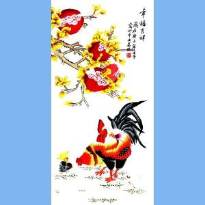 当代工笔画画家,北京九久书画收藏文化交流中心画家,北京美协会员,北京著名工笔画画家凌雪(幸福吉祥)
