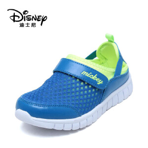 【达芙妮超品日 2件3折】鞋柜/迪士尼童鞋透气轻便防滑男童休闲旅游鞋子