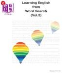 【中商海外直订】Learning English from Word Search (Vol.5)
