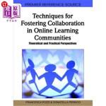 【中商海外直订】Techniques for Fostering Collaboration in Online Le