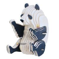 儿童拼图益智玩具6-8岁早教动手拼装木质3d立体拼图动物模型熊猫