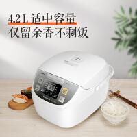 松下(Panasonic)电饭煲 SR-DC156-N 4.2L/升(对应日标1.5L) 6大炊煮功能 米量判定 电饭