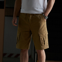 Jeep/吉普官方正品休闲短裤P212MWP100