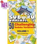 【中商海外直订】50 Challenging Sudoku Variations - Volume 1