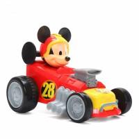 米奇妙妙车队惯性车玩具幼儿益智唐老鸭玩具车赛车模型