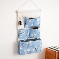 挂墙上收纳袋 宿舍神器上铺 床头挂墙上的收纳袋挂袋 墙挂式寝室内衣置物袋 中号