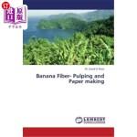 【中商海外直订】Banana Fiber- Pulping and Paper Making