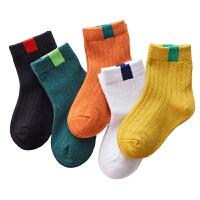 儿童袜子中筒3-5-7-9-12岁中大童秋冬季男女宝宝婴儿厚地板袜