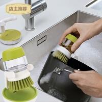 创意家居厨房用品皂液刷洗洁精罐刷子厨具洗碗神器实用小工具锅刷SN7034