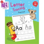 【中商海外直订】Letter Tracing Practice!: Ages 3 - 5, Workbooks (Pr