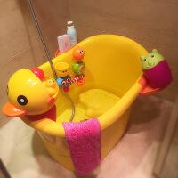 超大号儿童洗澡桶宝宝浴桶塑料泡澡桶婴儿浴盆小孩沐浴桶可坐加厚 大号
