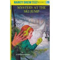 Nancy Drew #29 Mystery at the Ski Jump 南茜・朱尔:滑雪场之谜 ISBN9780