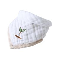口水巾婴儿三角巾棉纱布围嘴儿童围兜加厚秋冬