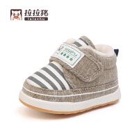 冬季儿童棉鞋学步鞋保暖婴儿冬鞋0-1-3岁男孩女孩