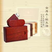 32gU盘木质礼品diy定制学生电脑手机两用