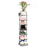 经济型简易家用鞋架子省空间门口简约现代组装铁艺多层防尘小鞋柜