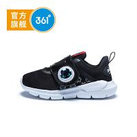 【下单立减】361度童鞋 男童跑鞋 儿童运动鞋小童鞋 2019年夏季新品魔术贴鞋N71924522