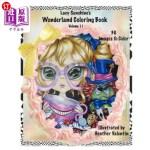 【中商海外直订】Lacy Sunshine's Wonderland Coloring Book Volume 11