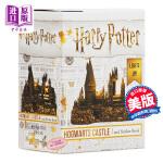 【中商原版】哈利波特:霍格沃茨城堡和贴纸书套装 英文原版 Harry Potter Hogwarts Castle a