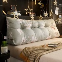 布艺床头软包床头靠垫大靠背榻榻米床上简约床头板软包靠背垫三角护腰靠枕双人