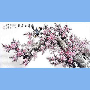 中国美协会员,中国书协会员,龙云书画院院长候桂峰(喜上眉梢)4