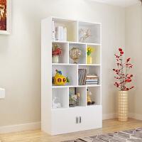 简约现代书柜落地置物架自由组合书架创意储物柜儿童收纳柜
