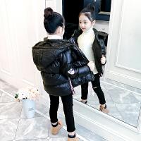 儿童棉衣冬季2018新款韩版中大童短款加厚棉袄女孩
