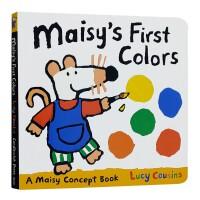 进口英文小鼠波波颜色认知书Maisy's First Colors : A Maisy Concept Book