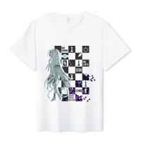 【好货推荐】 游戏人生T恤幸运石二次元动漫周边朱碧休比多拉空白短袖衣服 机铠少女 T恤