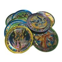 赛尔号卡片铁币大中小安全铁圆卡金属圆铁片斗龙战士异形币米米币卡通周边 送小礼物