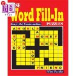 【中商海外直订】Wise Word Fill In Puzzles