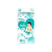 帮宝适清新帮纸尿裤 大包装M54片/包 中码 泡泡纸尿裤婴儿尿不湿