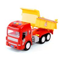 大号工程车男孩宝宝晒水小汽车儿童玩具翻斗大卡车货车模型挖掘机