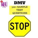 【中商海外直订】DMV 500+ Sample Test Questions: DMV California Driv