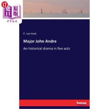 【中商海外直订】Major John Andre