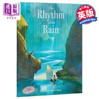 预售【中商原版】雨的旋律 英文原版 The Rhythm of the Rain 格林威奖得奖 名家绘本 3-9岁