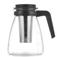 家用耐热玻璃过滤茶壶大容量花茶壶茶杯普洱茶壶不锈钢泡茶壶