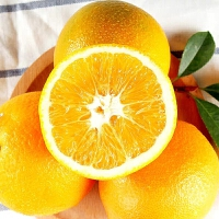 【当当基地直采】正宗赣南脐橙75-80mm果10斤装含箱 产地直发新鲜水果