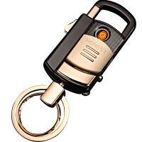打火机钥匙扣男腰挂 多功能汽车钥匙挂件男士创意