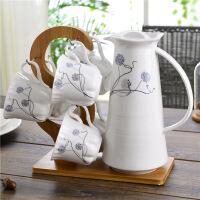 陶瓷咖啡具咖啡杯冷水壶水杯水具杯子茶杯茶具套装饮具礼品装家用