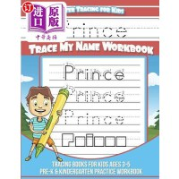 【中商海外直订】Prince Letter Tracing for Kids Trace My Name Workbo