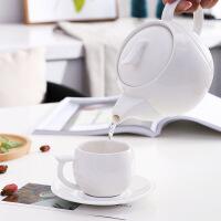 花茶茶具套装欧式家用陶瓷杯子英式下午茶茶壶简约咖啡杯水杯套具 图片色