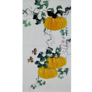 中国美协会员,龙门书画院院长侯桂峰(南瓜)69