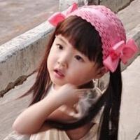 韩版宝宝发带女童假发儿童发饰头饰韩国婴儿假刘海发带卷发拍照款