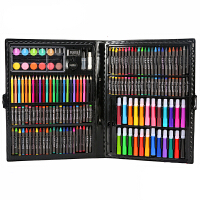 画画水彩笔 儿童画画笔水彩笔套装宝宝幼儿园彩色笔蜡笔小学生绘画可水洗