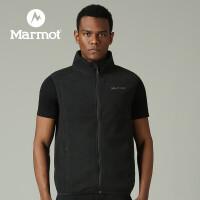 【书香节】Marmot/土拨鼠户外运动男士保暖抓绒外穿马甲