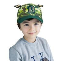 kocotree儿童帽子春秋2-6-8岁男童女童小孩鸭舌帽防晒太阳帽