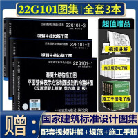 正版现货 16g101图集全套3本 16g101 1 2 3系列图集 16g101系列图集讲解全套平法钢筋16g101-