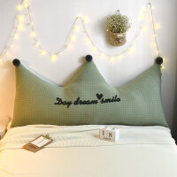 布艺床头软包床头靠垫抱枕靠枕床上大靠背垫腰枕男生款睡觉护腰靠软包女生沙发