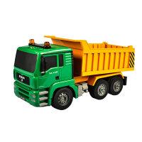 遥控工程车汽车玩具套装充电动挖掘机卡车超大号男孩儿童玩具模型定制 官方标配[含车身充电电池一块]